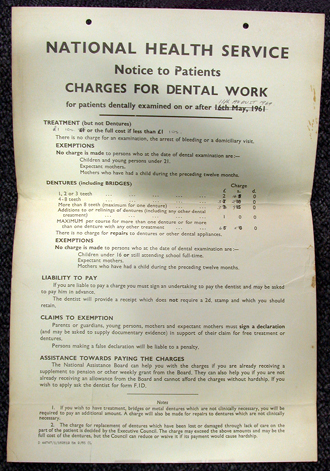 Image of nhs document